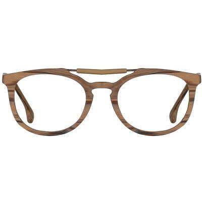 Wood Eyeglasses 133984-c