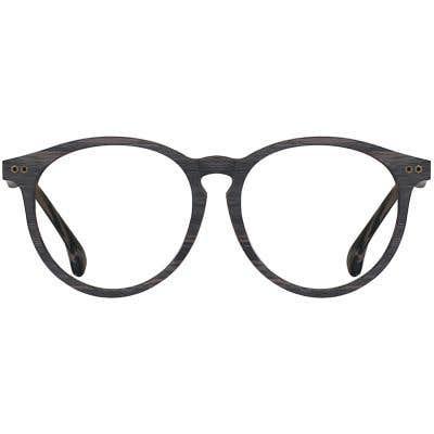 Wood Eyeglasses 133995-c