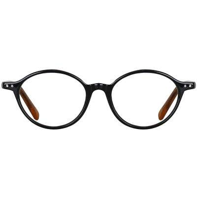 Round Eyeglasses 134010-c