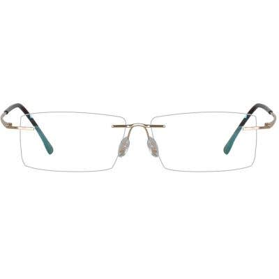Rimless Eyeglasses 134109-c