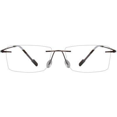 Rimless Eyeglasses 134118-c