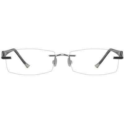 Rimless Eyeglasses 134165-c