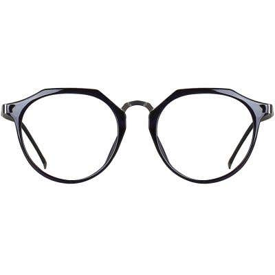 Round Eyeglasses 135252-c