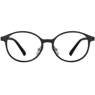 Round Eyeglasses 135266-c