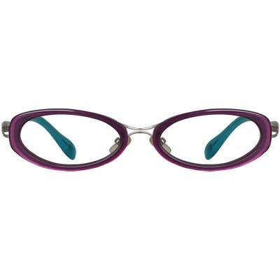 Oval Eyeglasses 135595-c