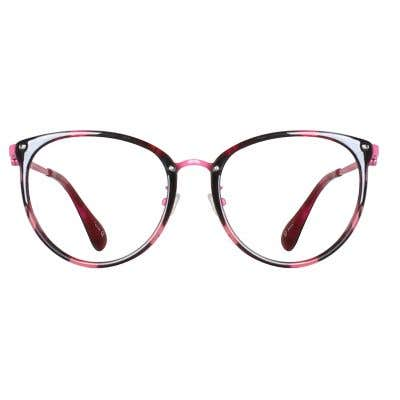 Cat Eye Eyeglasses 135801-c