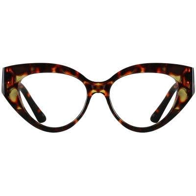Cat Eye Eyeglasses 137085-c