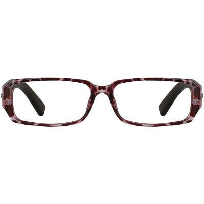 Wood Rectangle Eyeglasses 138095