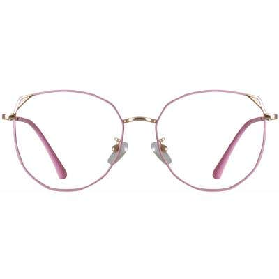 Geometric Eyeglasses 139586-c