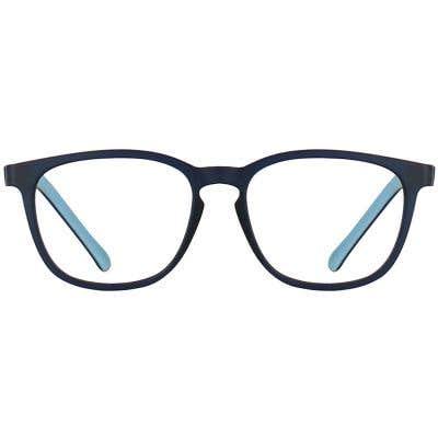 Kids Rectangle Eyeglasses 140167-c