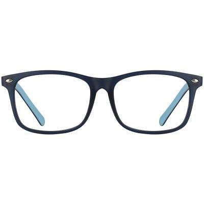 Kids Rectangle Eyeglasses 140196-c
