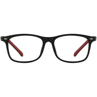 Kids Rectangle Eyeglasses 140201-c