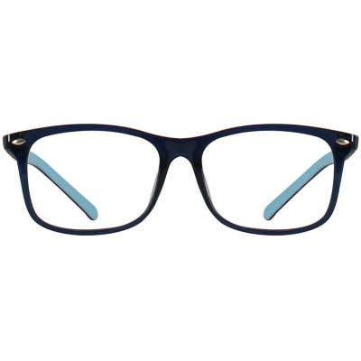 Kids Rectangle Eyeglasses 140204-c
