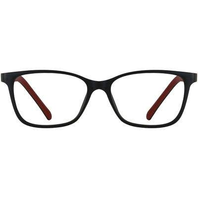 Rectangle Eyeglasses 140206-c
