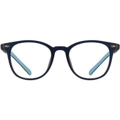 Kids Round Eyeglasses 140220-c