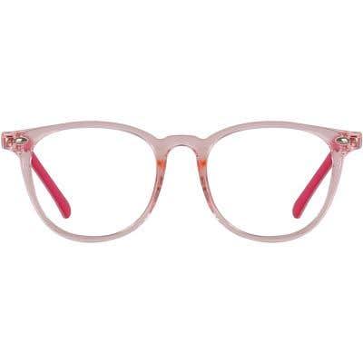 Kids Round Eyeglasses 140224-c