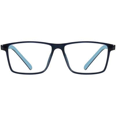 Kids Rectangle Eyeglasses 140239-c