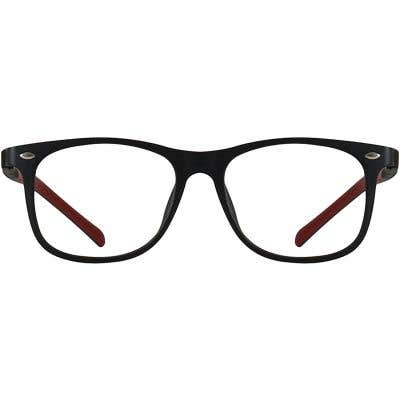 Kids Rectangle Eyeglasses 140245-c
