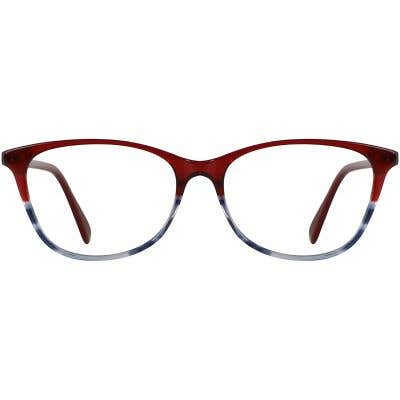 Cat-Eye Eyeglasses 140332-c