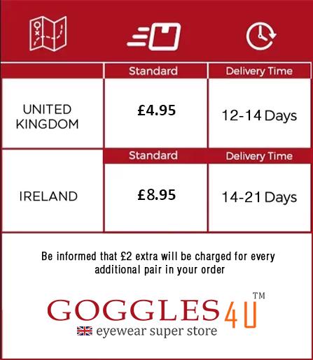 Shipping Policy at Goggles4u UK