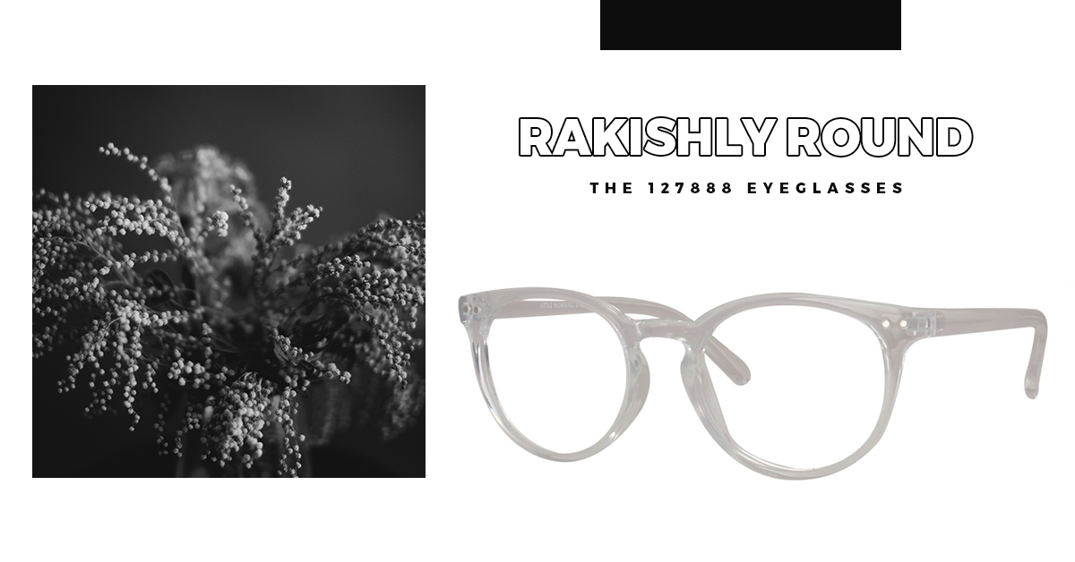 Rakishly Round - The 127888 Eyeglasses