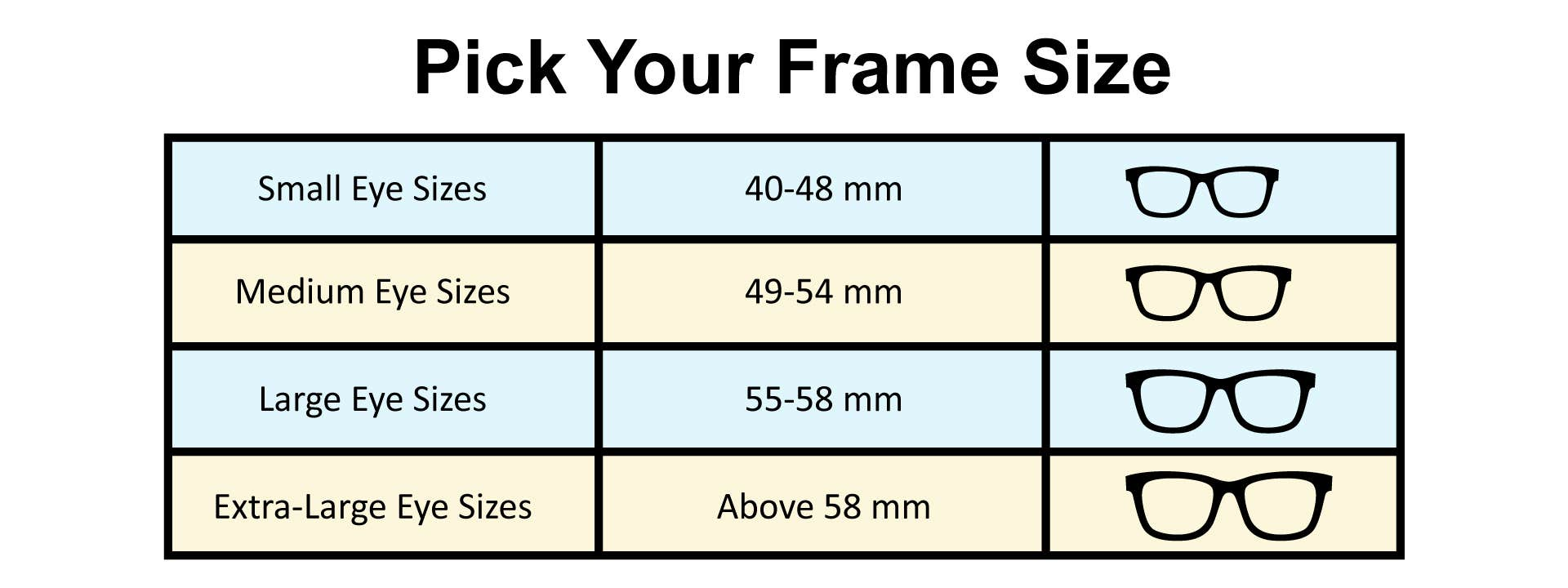 Choose The Size of The Frame Wisely: