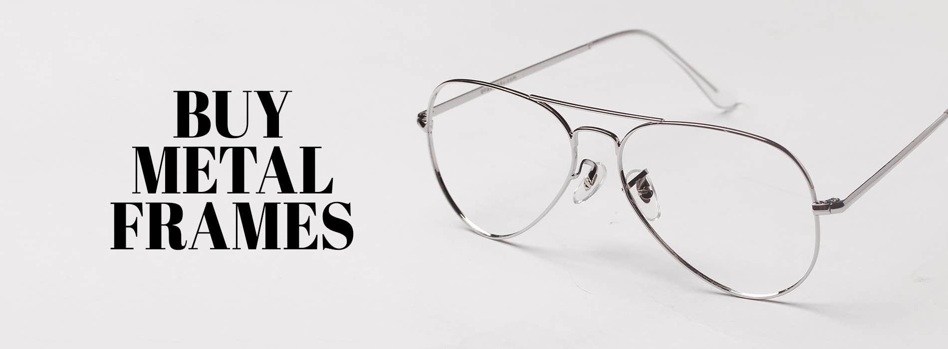 Buy Metal Frames at Goggles4U UK