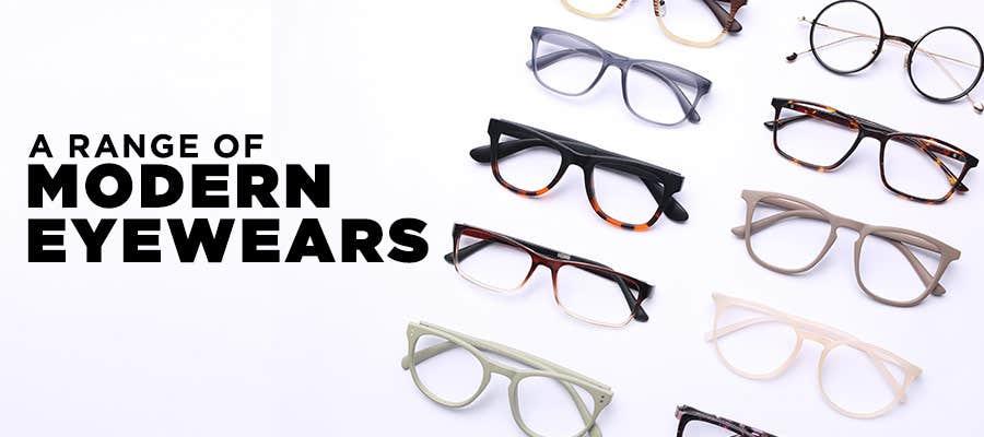 Buy Rimless, Semi-Rimmed and Full-Rimmed Glasses