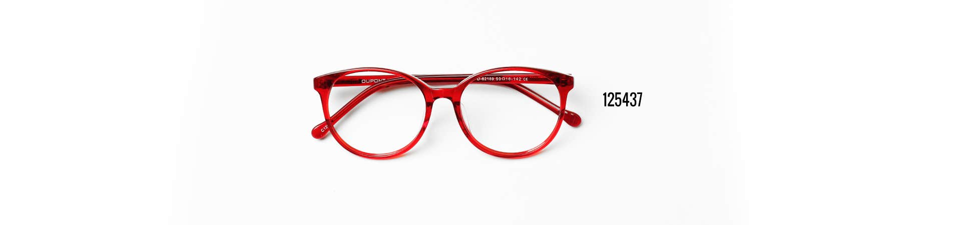 Buy 125347 Red Spring Glasses at Goggles4U UK