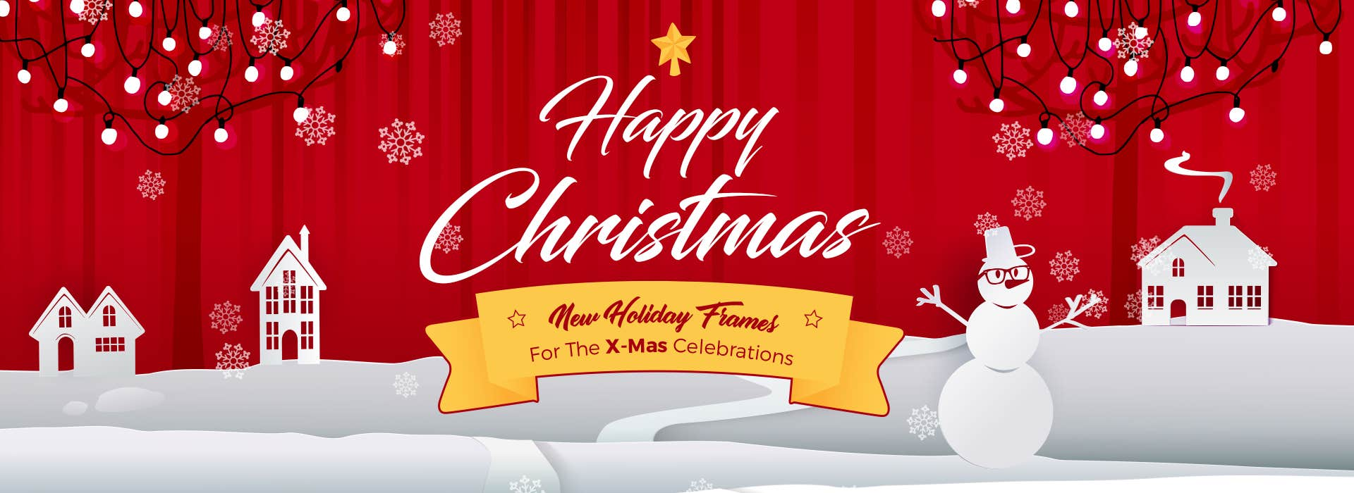 Happy Christmas: New Holiday Frames For The X-Mas Celebrations