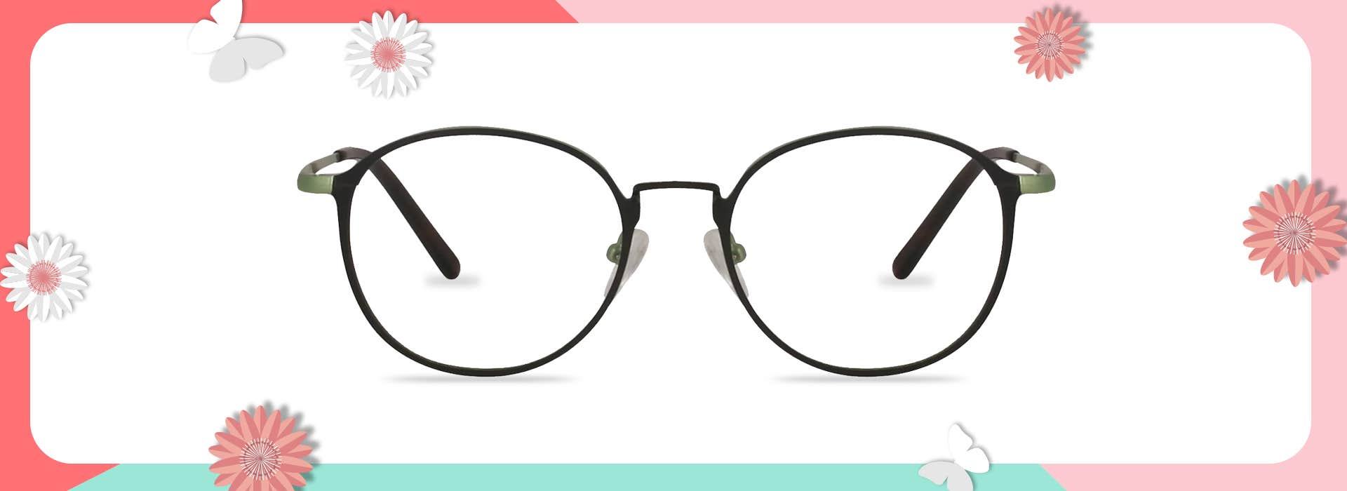 The 128147 ROUND EYEGLASSES: