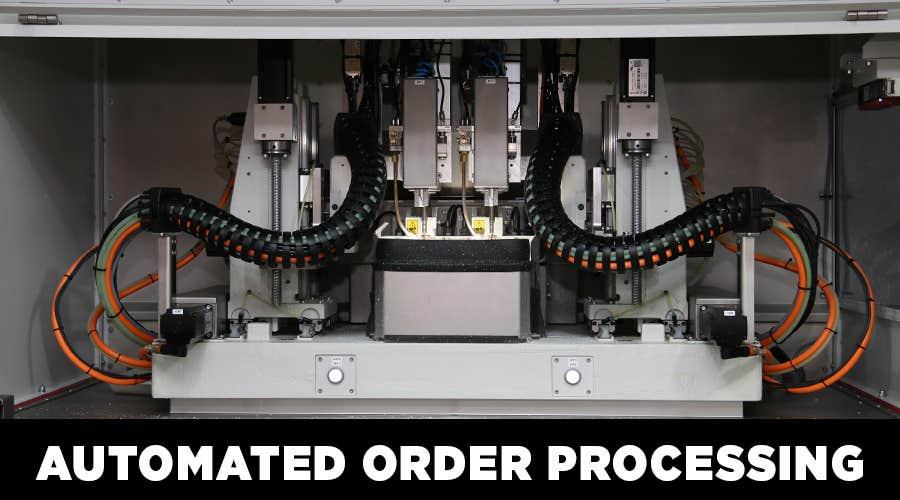 Goggles4U Automated Processing Unit