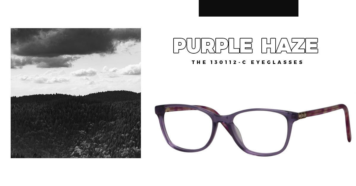 Purple Haze - The 130112-C Eyeglasses